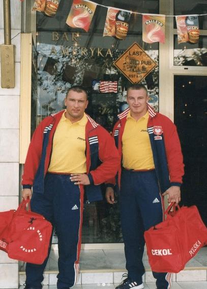 młody mariusz pudzianowski i jarosław dymek