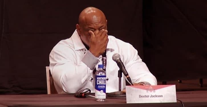 Dexter Jackson konferencja prasowa Mr Olympia 2020