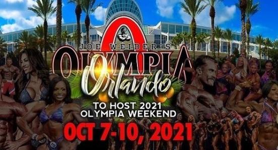 Mr Olympia 2021 data miejsce