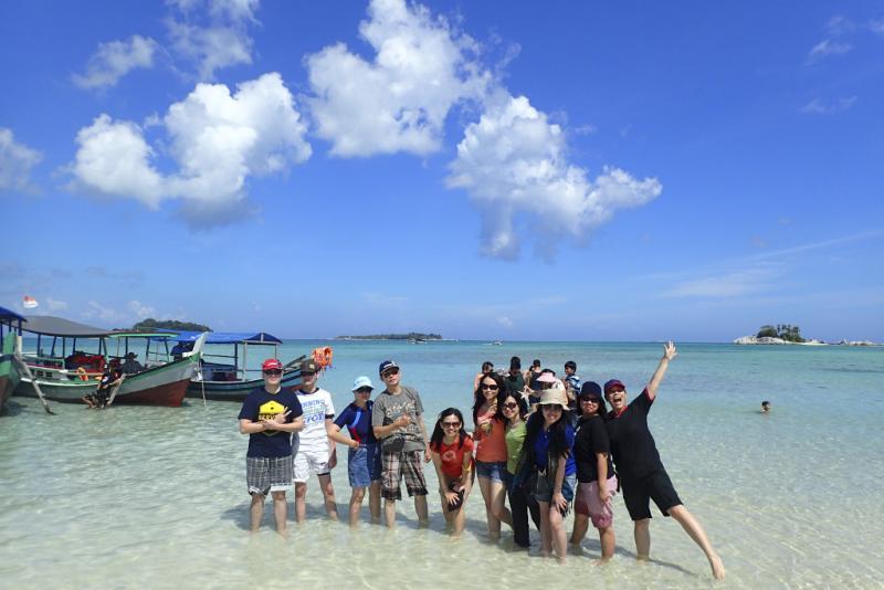 tempat wisata pantai belitung
