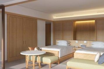 Hotel Sheraton Belitung twin Bad