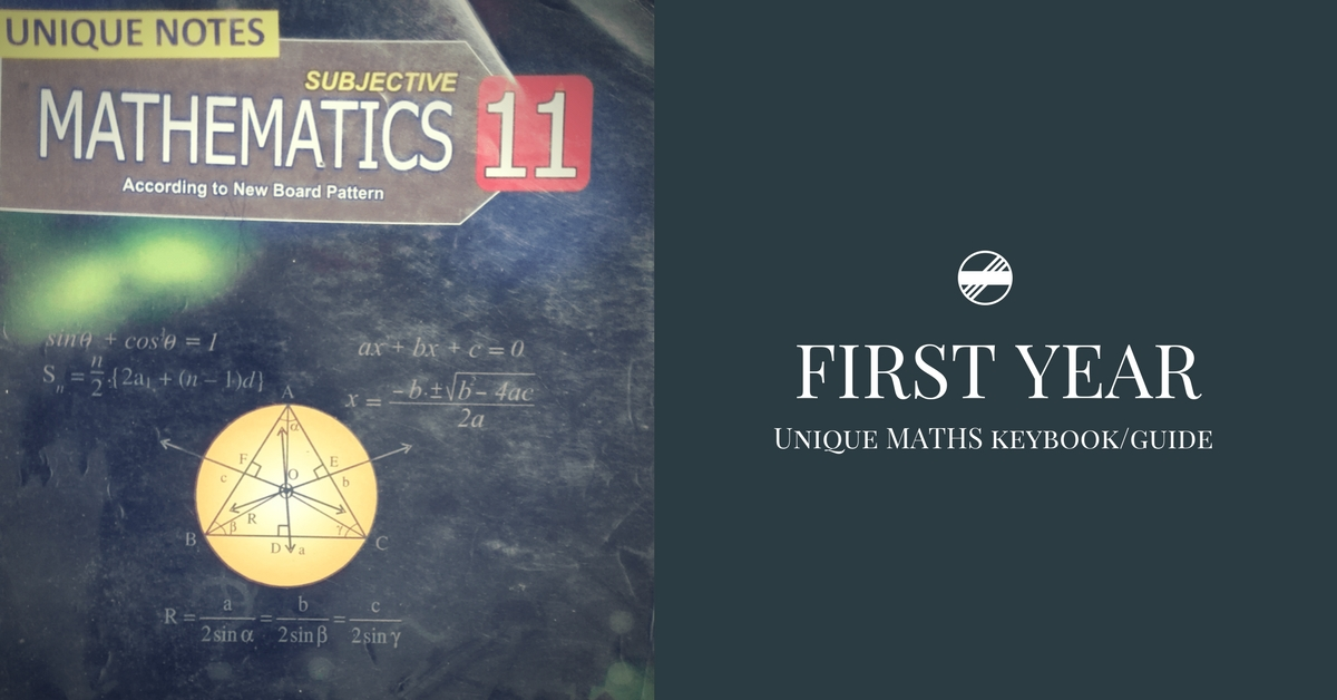 First Year Unique Math Guide/Keybook PDF | Pakget