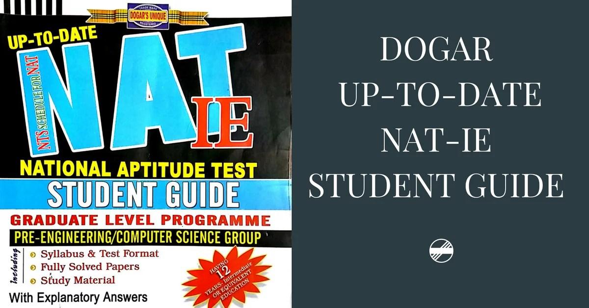 DOGAR'S NAT-IE Student Guide PDF | Pakget