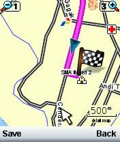 GPS di Nokia N70
