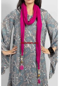 Latest Scarves range 2013-14 for women at Pakicouture.com ...