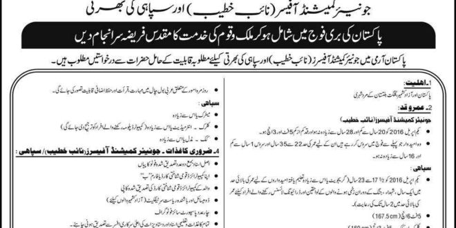 Pakistan Navy Jobs Junior Commissioned Officer JCO 2015