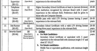 Punjab Forensic Science Agency Jobs 2019 pfsa.gop.pk Application Form