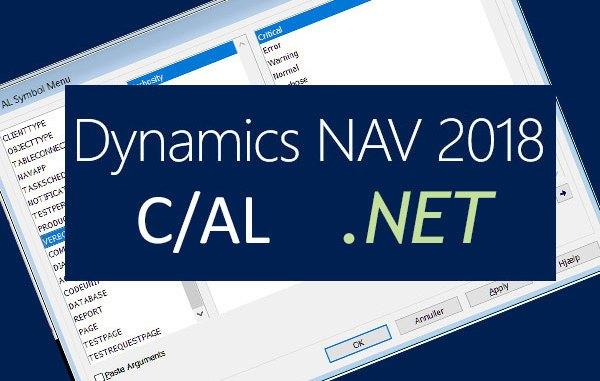 NAV2018 C/AL .NET