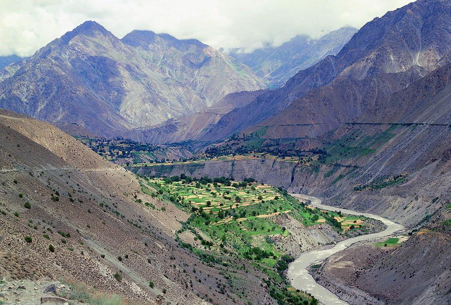 Astore Valley - What a scene - Mountains river fields and so much