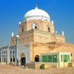Hazrat Bahauddin Zakariya Multani - a attractive view of tomb