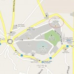 Location map of Bahauddin Zakaria Shrine or tomb in Multan city Near killa Kohna Qasim Bagh