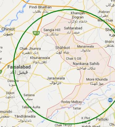Faisalabad Division – List of MNA and MPA Seats in Election 2018