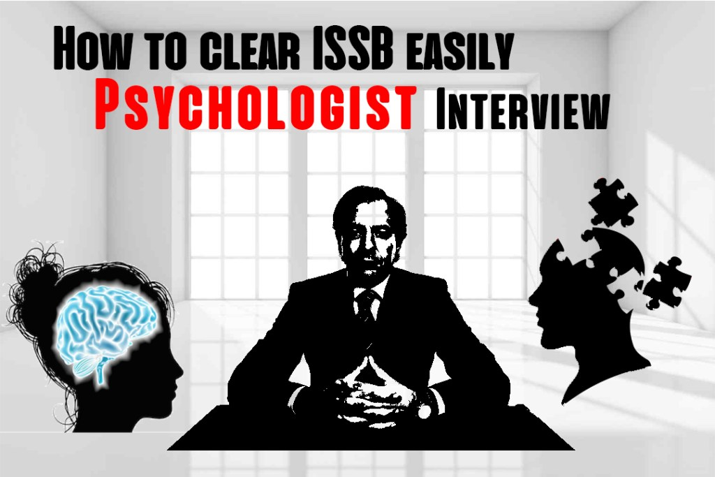 How to clear ISSB easily - Psychologist Interview