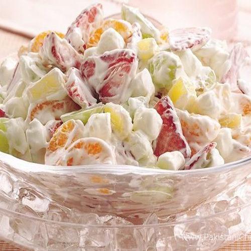 Cream Friut Chaat Recipe By Chef Asad Latif  Pakistani Chef Recipes