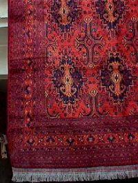 Traditional products of Sindh, Pakistan.: Hand knotted carpets
