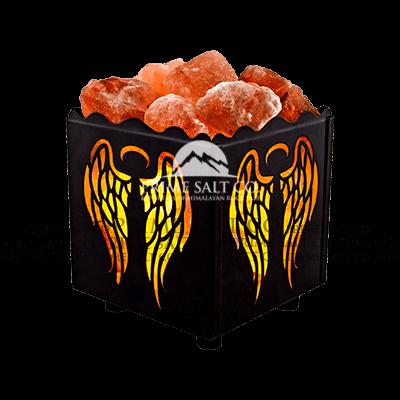 Himalayan Salt Iron Basket Lamps Exporters