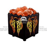 Himalayan Salt Iron Basket Lamps Exporters | Pakistan Salt