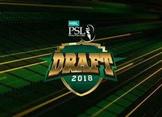 HBL Pakistan Super League Player Draft 2018 (All Six Squads)
