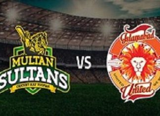 Islamabad United vs Multan Sultans Live Scores Highlights - 16th Feb 2019 - PSL