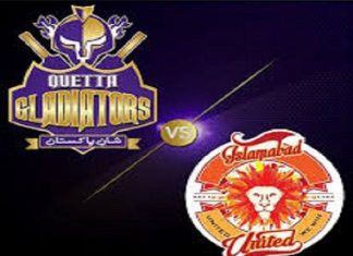 Islamabad United vs Quetta Gladiators Live Scores Highlights - 17th Feb 2019 - PSL