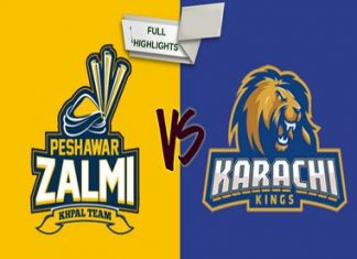 Karachi Kings vs Peshawar Zalmi Live Scores, Highlights - 21st Feb, 2019 - PSL