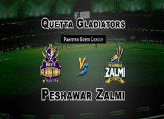 Peshawar Zalmi vs Quetta Gladiators Live Scores, Highlights - 15th Feb, 2019 - PSL