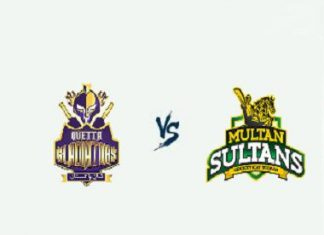 Quetta Gladiators vs Multan Sultans Live Scores, Highlights - 20th Feb, 2019 - PSL