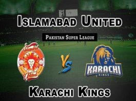 Islamabad United vs Karachi Kings Eliminator 1 Live Scores Highlights - 13th March 2019 - PSL