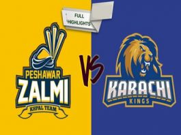 Karachi Kings vs Peshawar Zalmi Live Scores, Highlights - 11th March 2019 - PSL