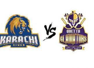 Karachi Kings vs Quetta Gladiators Live Scores Highlights - 10th March 2019 - PSL