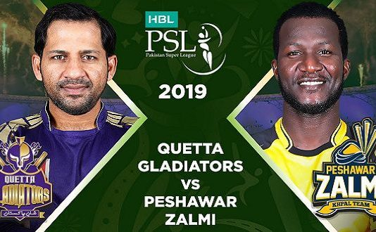 Peshawar Zalmi vs Quetta Gladiators Final Live Scores, Highlights - 17th March 2019 - PSL