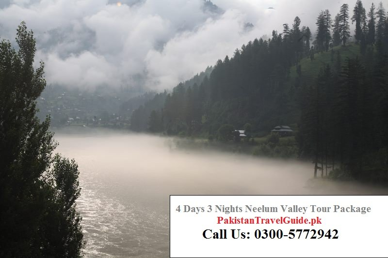 4 days 3 nights neelum valley tour packages