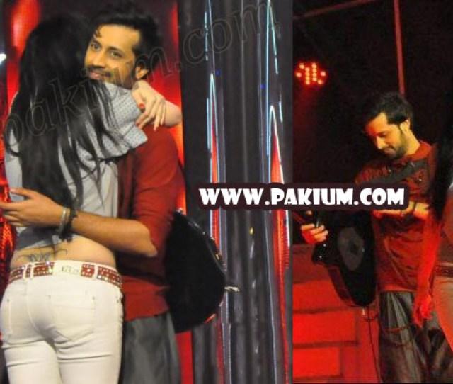 Girl Hugs And Kisses Atif Aslam In Sur Kshetra Who