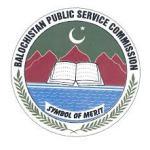 Balochistan Public Service Commission (BPSC)