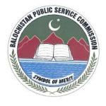 The Balochistan Public Service Commission (BPSC)