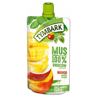 TYMBARK Mus 100% Owoców Mango 120g