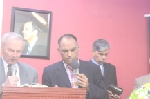 Brother Krzok Preaching at Pak Tabernacle Church Kashmir Colony Karachi