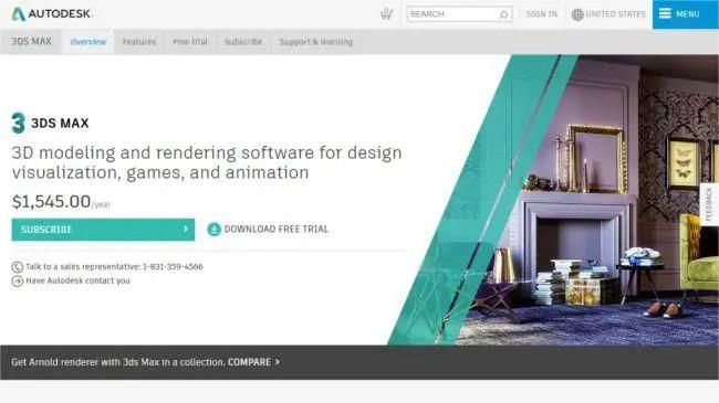 3d interior design software