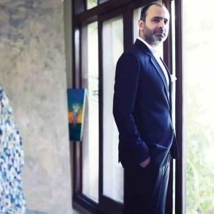 Pakistani fashion designer