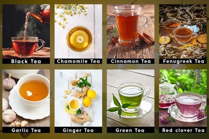 detox tea, tea for cleansing, herbal tea