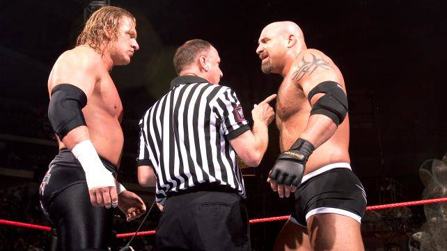 wwe rivalries, goldberg