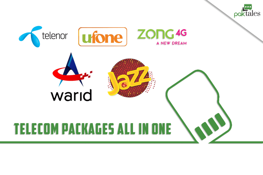 Mobile packages Pakistan, Pakistan all network package