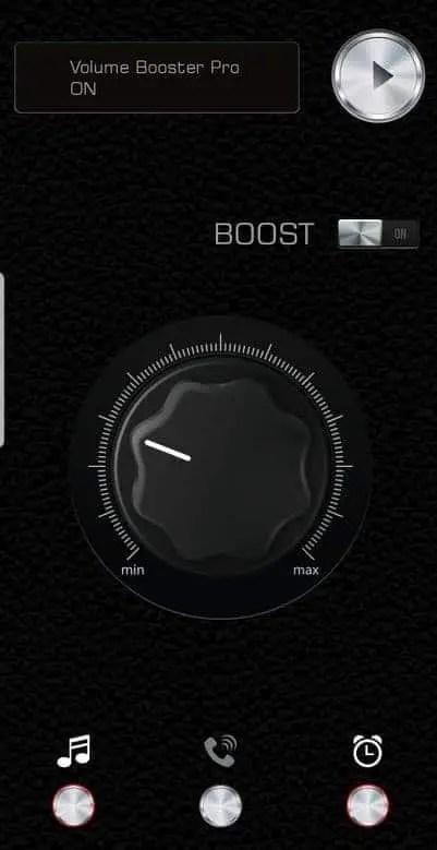 Make music louder app