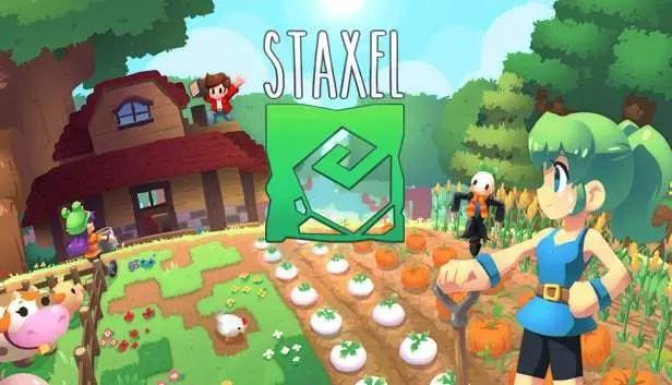best farm building games, staxel