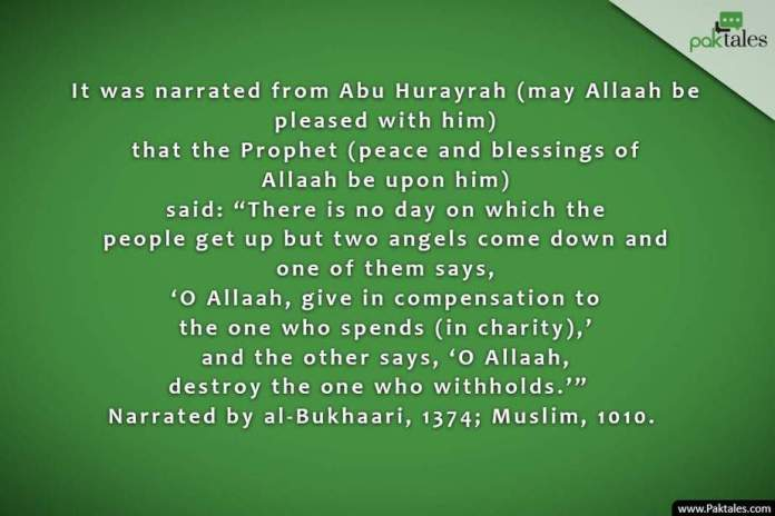 charitable deeds, act of charity, charitable deeds
