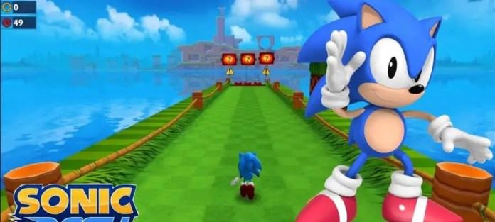 subway surfers type games, Sonic Dash