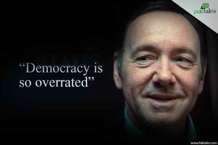 political drama , frank underwood quotes