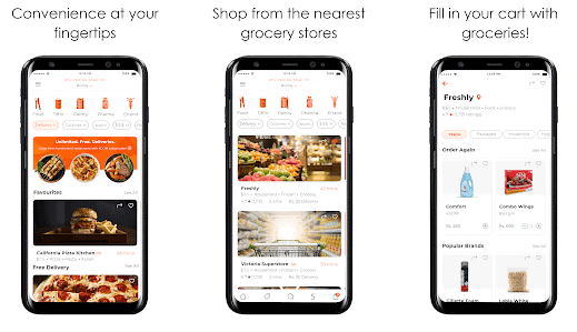 find fast food near me app , fast food android apps
