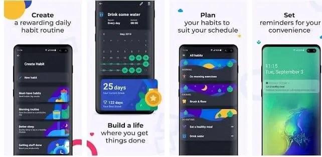 productive habit tracker