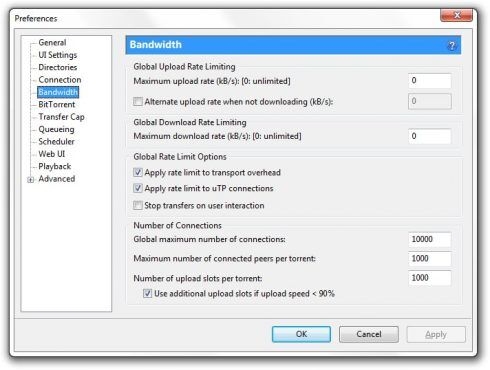 uTorrent download speed , torrent booster